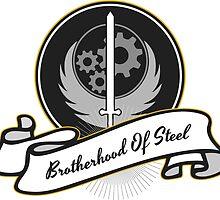 Brotherhood Of Steel Emblem by SOWSEEGG