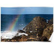 Rainbow Rock Poster