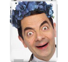 Flower Crown Mr. Bean iPad Case/Skin