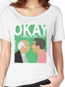 Okay. I believe you.  Women's Relaxed Fit T-Shirt