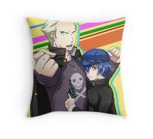 Kannao - Let's Fight Together Throw Pillow