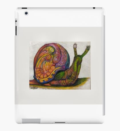 EricTHEWilson Psychedelic Snail iPad Case/Skin