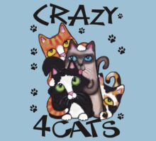 Crazy Cat Lovers Kitty Art by Jamie Wogan Edwards