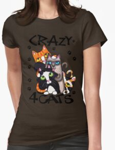 Crazy Cat Lovers Kitty Art T-Shirt