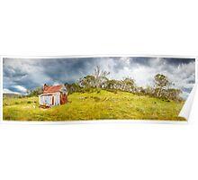Four Mile Hut, Kosciuszko, New South Wales, Australia Poster