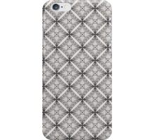 Diamond Fence Linework Pattern iPhone Case/Skin