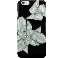 Green triangle looking thing iPhone Case/Skin