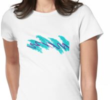 Jazz Cup Design Womens Fitted T-Shirt