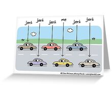 designating drivers Greeting Card