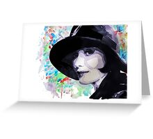 Miss Fisher Greeting Card