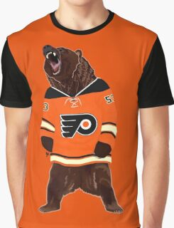 Flyers Ghost Bear Graphic T-Shirt