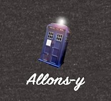 """Allons-y!"" Public Call Box. Unisex T-Shirt"