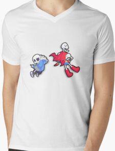 Some Cool Skeledudes Mens V-Neck T-Shirt