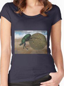 Beetle by Anne Winkler Women's Fitted Scoop T-Shirt