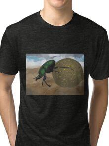 Beetle by Anne Winkler Tri-blend T-Shirt