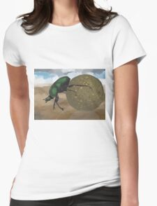Beetle by Anne Winkler Womens Fitted T-Shirt