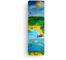 The Seaside Canvas Print