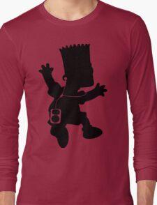 The Simpson - Bart Music Long Sleeve T-Shirt