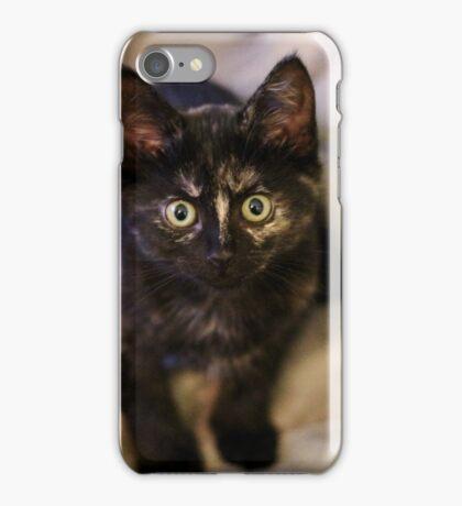 Nebula the tortie cat #3  iPhone Case/Skin