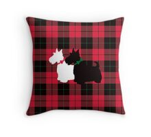 Scottie Tartan Throw Pillow