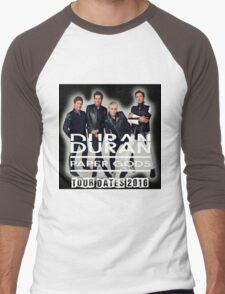 Duran duran paper gods tour 2016 Men's Baseball ¾ T-Shirt