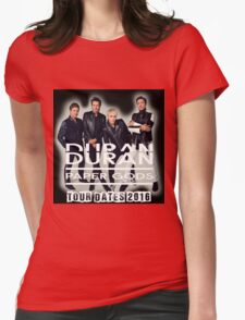 Duran duran paper gods tour 2016 Womens Fitted T-Shirt