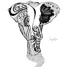 Awaken Elephant  by Franchesca Cox
