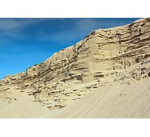 desert sand hill Photographic Print