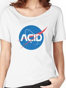 Acid vs Nasa Women's Relaxed Fit T-Shirt