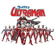 Ultraman Family All Star Version 1 Photographic Print