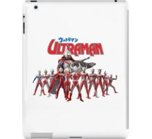 Ultraman Family All Star Version 1 iPad Case/Skin