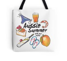Aussie Summer with your mates Tote Bag