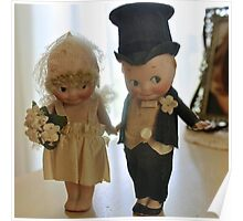 Bride and Groom Kewpies  Poster