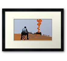 There Will Be Blood (Illustration) Framed Print