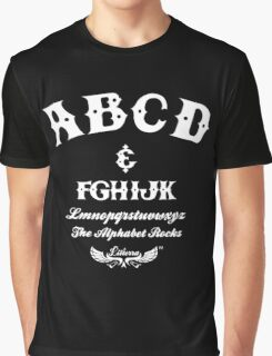 ABCD Alphabet Rocks! Graphic T-Shirt