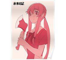 Mirai Nikki Yuno Poster