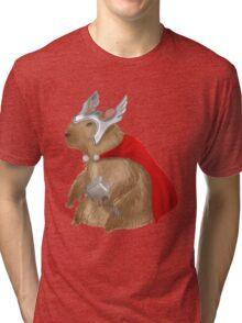 Capybara Thor Tri-blend T-Shirt