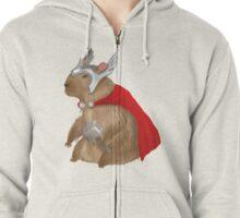 Capybara Thor Zipped Hoodie