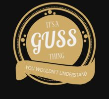 It's a GUSS thing by jackiepham