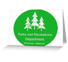 Parks and Rec Greeting Card
