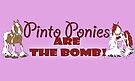Pinto ponies are the bomb by Diana-Lee Saville