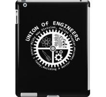 Union of mad engineers iPad Case/Skin