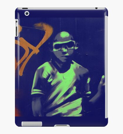 graffiti boy iPad Case/Skin