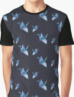 galaxy paper cranes Graphic T-Shirt