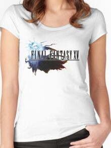 Final Fantasy XV Women's Fitted Scoop T-Shirt