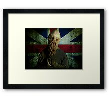 So that we may sing! Framed Print