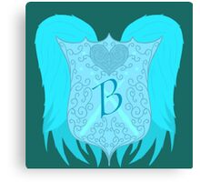 A Beauxbatons school crest redesign. Canvas Print