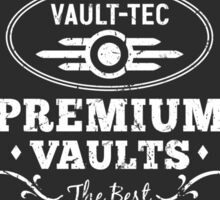 Vault Tec Premium Vaults Sticker