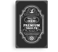 Vault Tec Premium Vaults Canvas Print