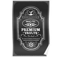 Vault Tec Premium Vaults Poster